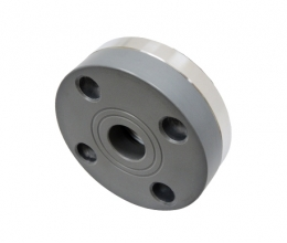 DIF-SSP Clamped diaphragm seal, flange connection