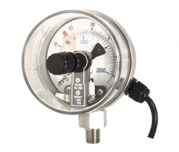 PRE3 Magnetic snap-action contact pressure gauge