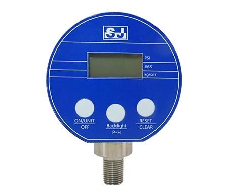 SC3 Battery-powered digital pressure gauge with ABS case