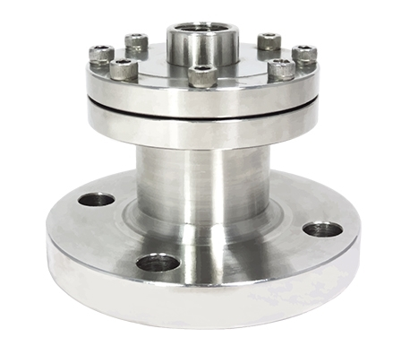 DIFF-S Flanged diaphragm seal, screw type