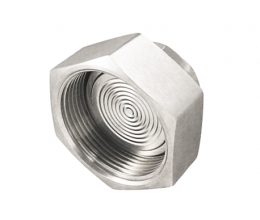 DIS-IDF Diaphragm seal with hygienic connection, IDF standard