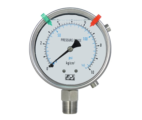 PROZ Stainless gauge with external adjustments